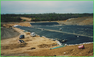 Solid Waste Facility Liner Placement